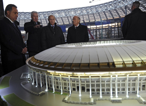 World Cup 2018 to be top level: Putin