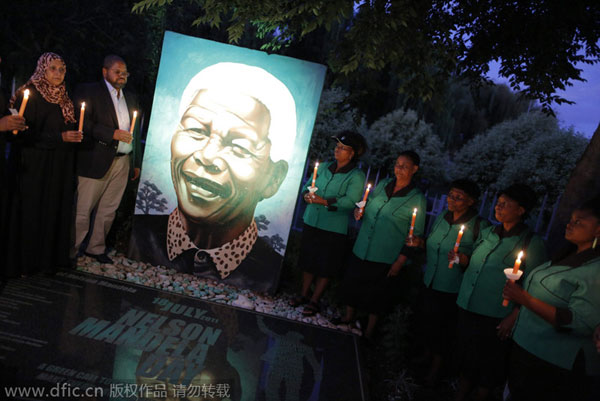 S. Africa marks first anniv. of Mandela's death