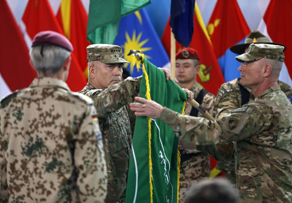 US, NATO mark end of 13-year war in Afghanistan