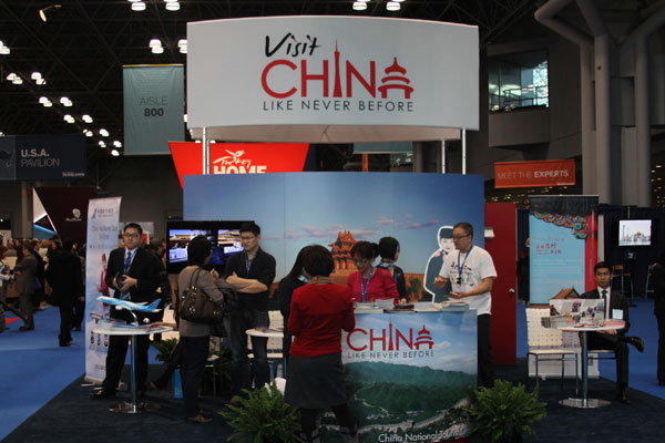 China Goes After Us Tourists At Ny Trade Show World