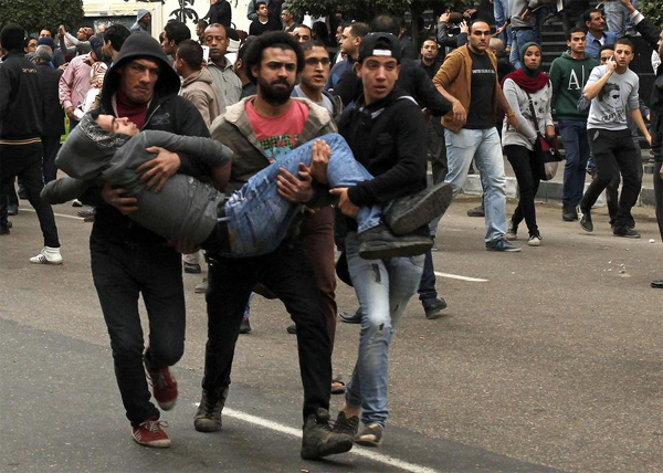 At least 17 killed in protests on anniversary of Egypt uprising