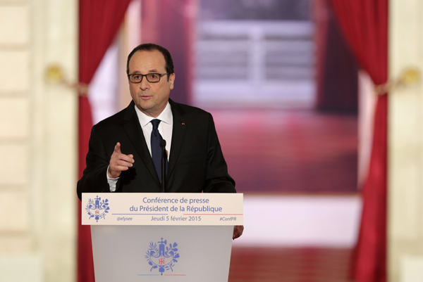 Hollande says not to run for 2017 election unless promises achieved