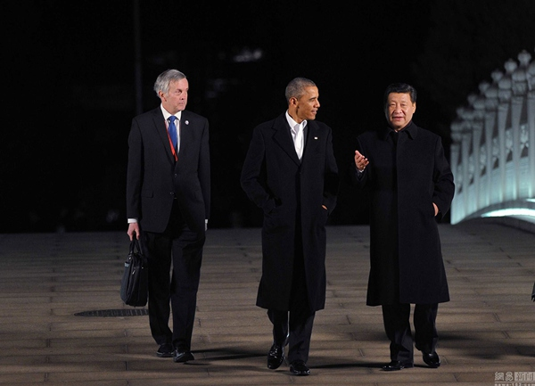 Xi has phone talks with Obama