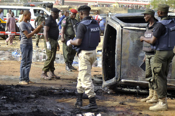 Suicide bombers kill at least 26 across north Nigeria
