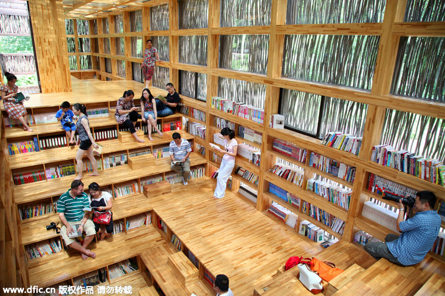 Unusual libraries around the world