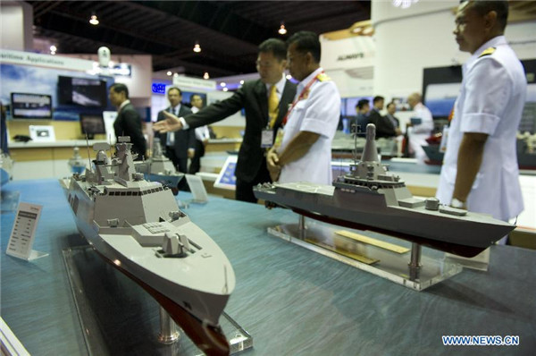 Intl Maritime Defence Exhibition kicks off[2]- Chinadaily com cn