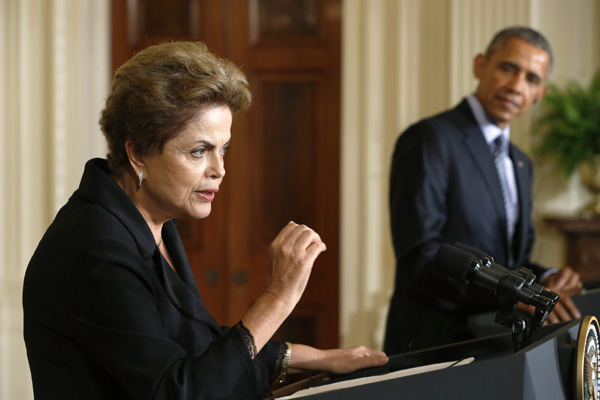 Obama hails 'new, more ambitious chapter' in US-Brazil relations