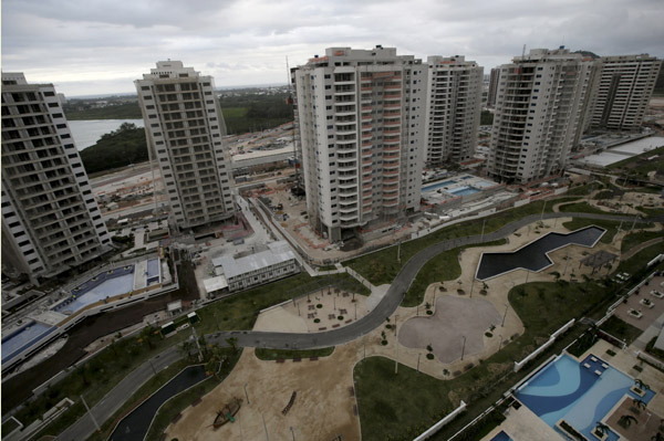 Rio Olympic village finishes 85% of construction work - World ...