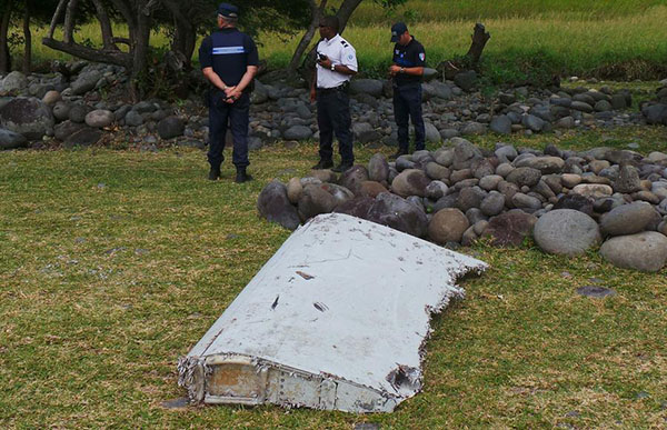 Malaysia confirms wing part washed up on La Reunion coast is from missing MH-370