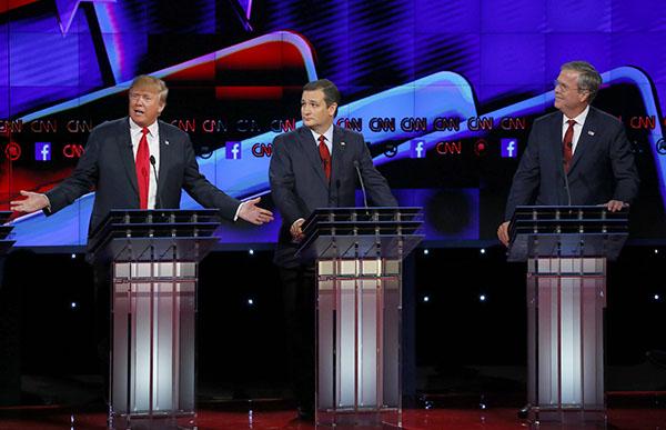 Trump a 'chaos candidate, Jeb Bush says, citin