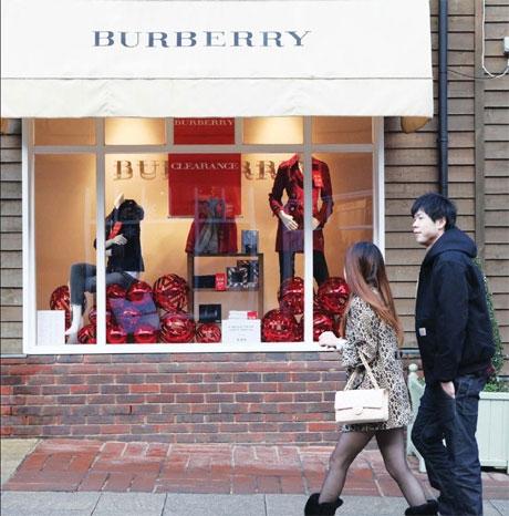 burberry bicester village online
