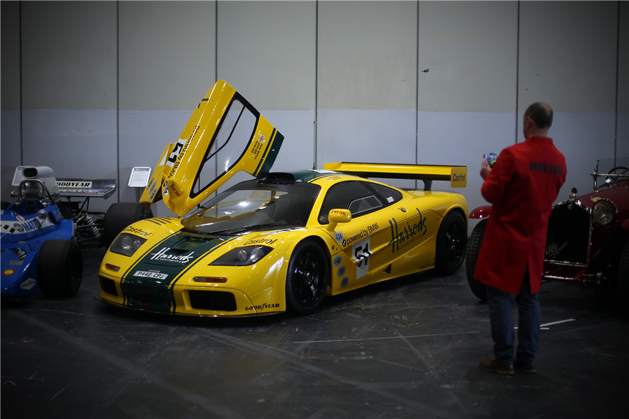 Classic Car Show kicks off in London[1]- Chinadaily.com.cn