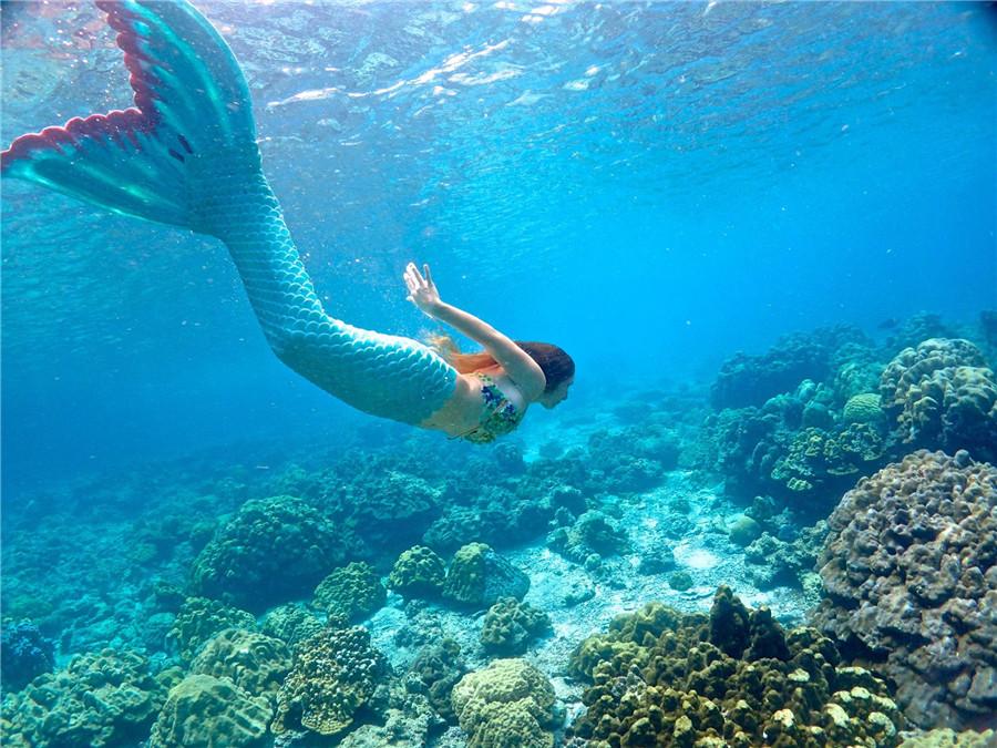 meet a real life mermaid