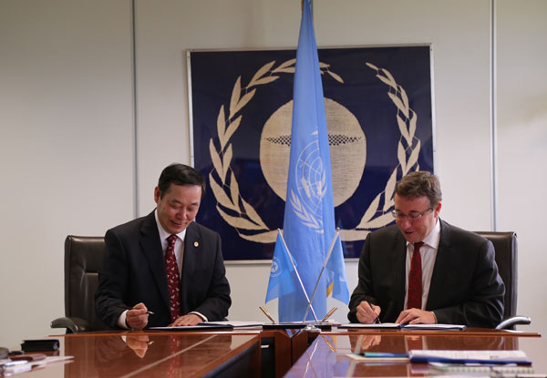 UNEP extends partnership with Chinese university