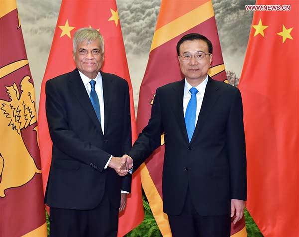 China, Sri Lanka issue joint statement on cooperation