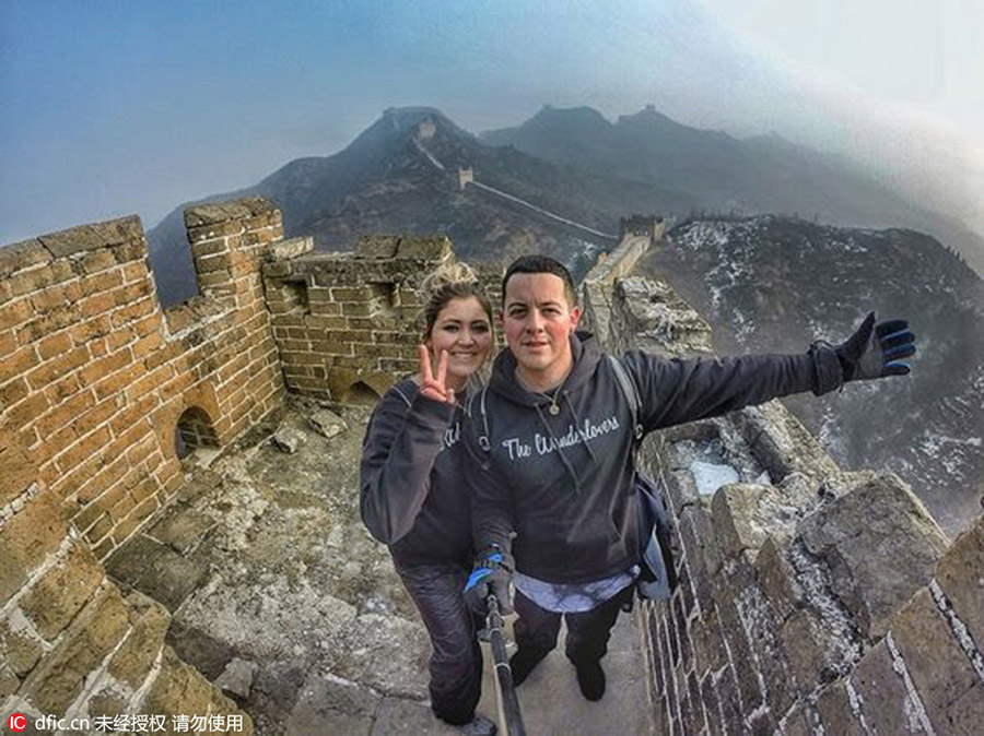 Young Couple Ditch Dream Jobs For Ultimate World Travel Plan 1 Chinadaily Com Cn
