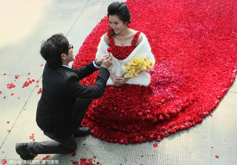 Most Romantic Ways To Propose On 5207 Chinadaily