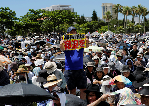 Okinawa protests fresh drunk driving case of US base worker