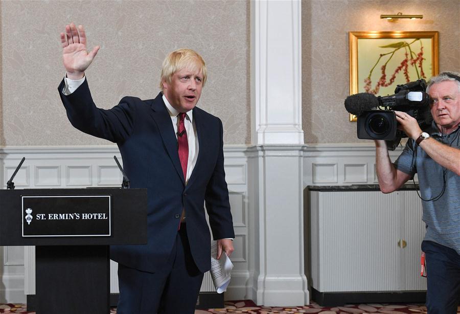 Theresa May among British PM hopefuls, Boris Johnson pulls out