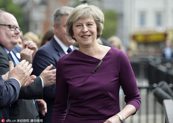 Theresa May sets for 2nd female PM for Britain