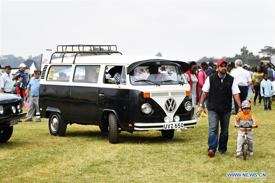 Africa Concours D Elegence Shows Vintage Cars In Nairobi