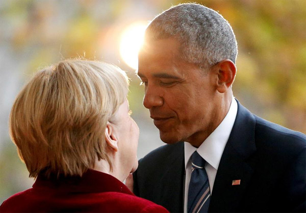 Merkel Obama Promote Efforts To Reach Common Trade Agreement1