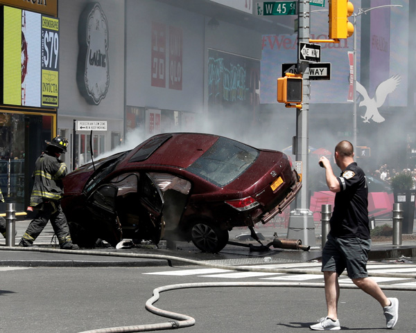 NY driver charged in deadly rampage - World - Chinadaily ...
