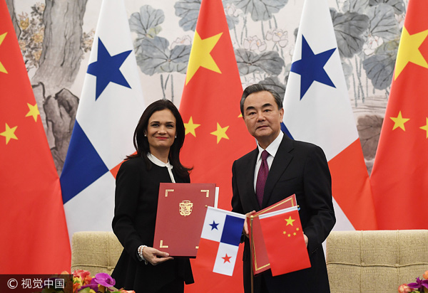 panama and us relationship with china