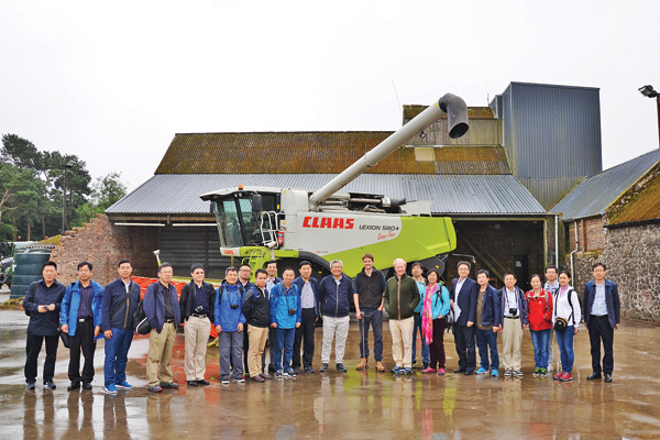Experts reap farming know-how