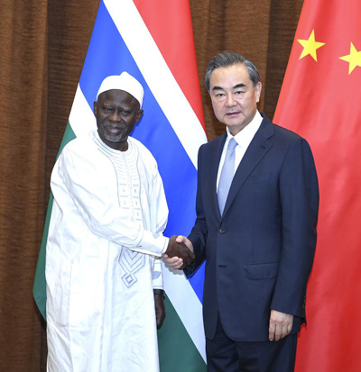 China's ties to Gambia set to grow - World - Chinadaily.com.cn