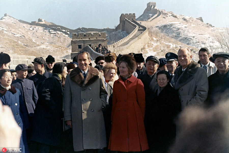 president nixon and americas relation with china President obama on monday opened up a two-day meeting in washington between us and chinese officials by heralding the importance of the relationship between the two countries.