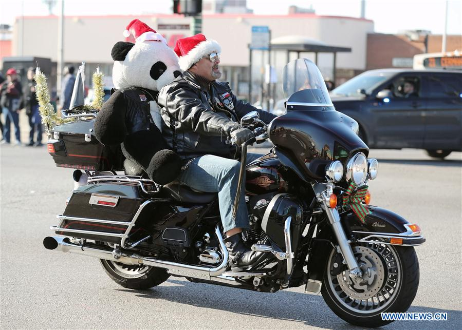 Motorcycles Presiodent Toys For Tots : Chicagoland toys for tots motorcycle parade held in us