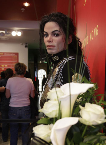 ... at Madame Tussauds...