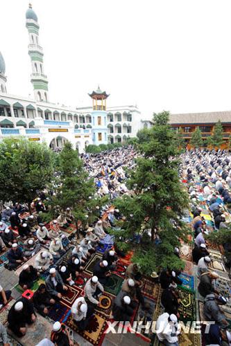 西宁穆斯林群众进入斋月[组图]