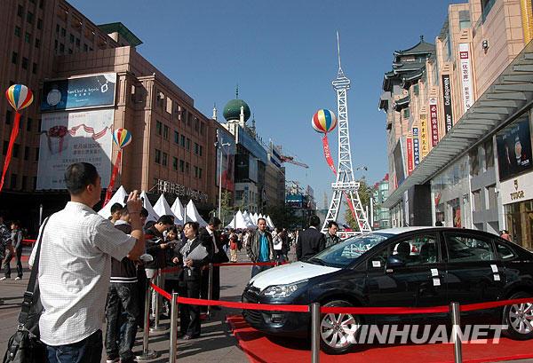展示法式美食,咖啡,葡萄酒,工业用品,汽车等法国特色文化,吸引了众多