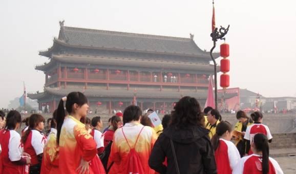 2009年西安城墙国际马拉松纪实