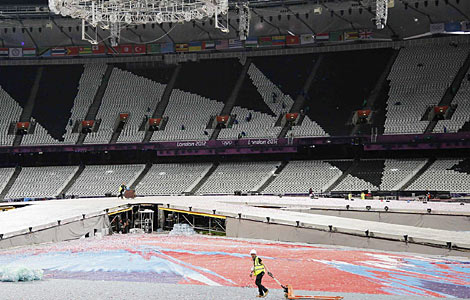 Olympic Stadium set for a future in soccer