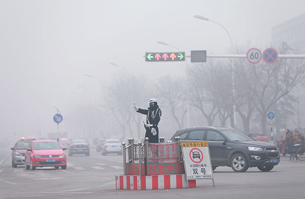 How Baoding city in Hebei copes with month-long alert for smog