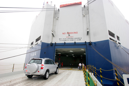 New Ship Opens Doors For Car Exports