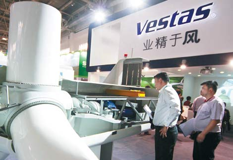 Chinese wind turbine maker may bid for Vestas - Business - Chinadaily.com.cn