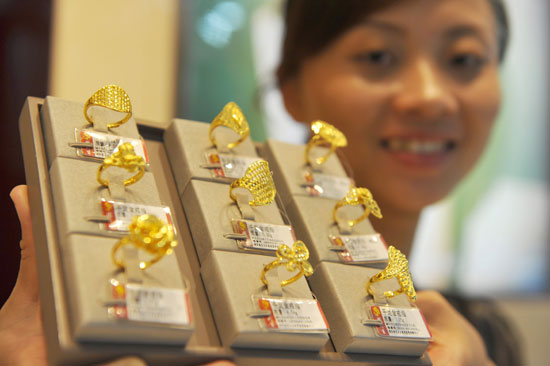 Gold Loses Er In Domestic Market Economy Chinadaily Cn