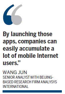Alibaba launches mobile chat app