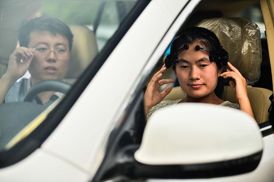 Brain-controlled car developed by Nankai University