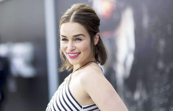 Clarke sexy emilia Emilia Clarke