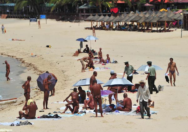 Walk nude public beach accept. The question