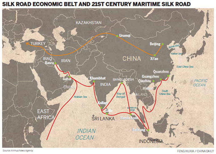 Silk Road taking on a new look - Chinadaily.com.cn