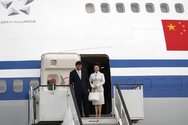 Inside Of China S Air Force One 1 Chinadaily Com Cn