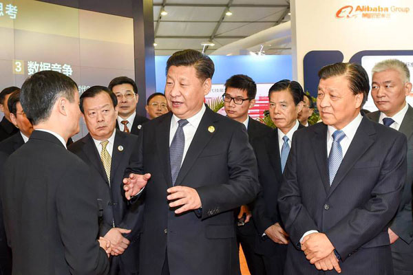 Internet giants that caught Xi's attention at Wuzhen