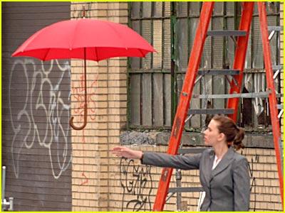 Scarlett Johansson Takes Flight