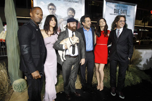 Premiere Of Due Date At Grauman S Chinese Theatre In Hollywood